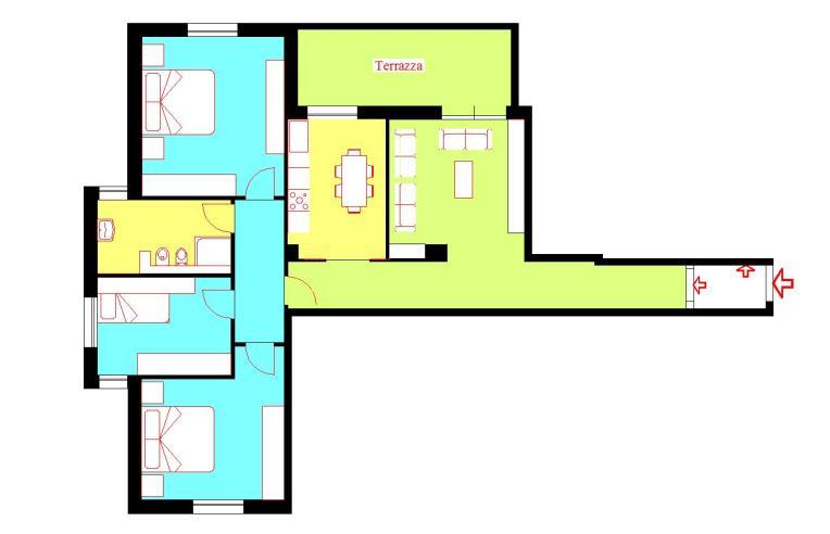 centralissimo appartamento ristrutturato a nuovo piano alto