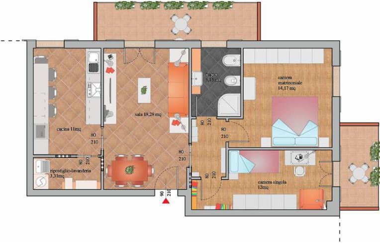 Privato Vende Appartamento, luminoso appartamento in ...