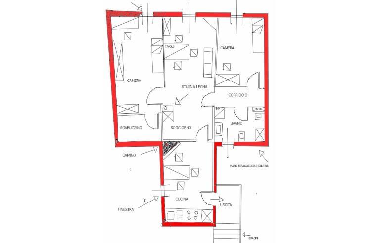 Privato vende appartamento appartamneto autonomo a 1 ora da roma annunci capistrello - Cucinare nel termocamino ...
