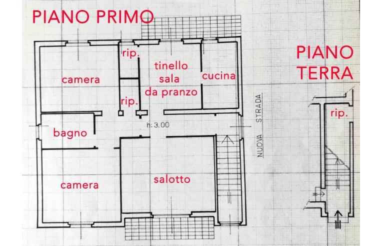 Foto 3 - Casa indipendente in Vendita da Privato - Montalcino, Frazione Torrenieri