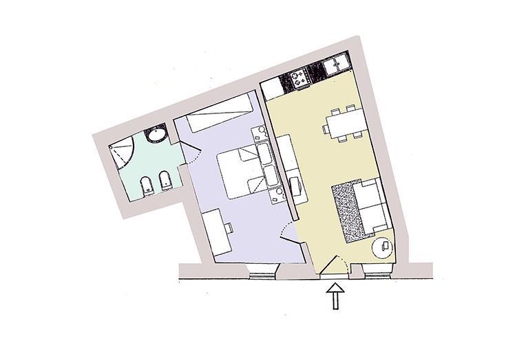 Foto 8 - Casa indipendente in Vendita da Privato - Radicondoli, Frazione Belforte