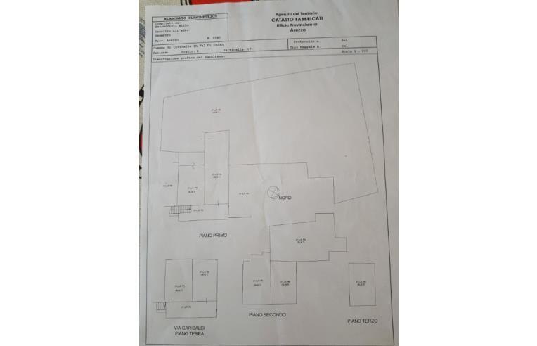 Foto 2 - Casa indipendente in Vendita da Privato - Civitella in Val di Chiana, Frazione Pieve A Maiano