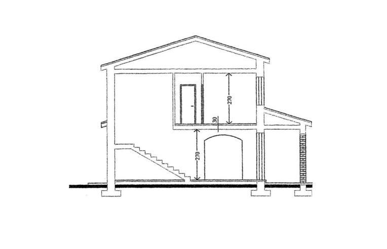 costruttore vende villa terreno con progetto di casa