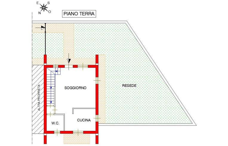 Foto 5 - Villetta a schiera in Vendita da Privato - Casole d'Elsa, Frazione Pievescola